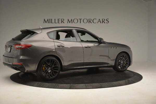 New 2019 Maserati Levante SQ4 GranSport Nerissimo for sale Sold at Pagani of Greenwich in Greenwich CT 06830 8
