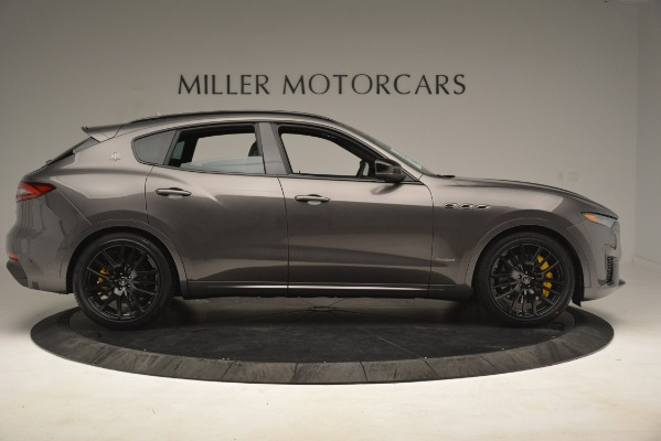 New 2019 Maserati Levante SQ4 GranSport Nerissimo for sale Sold at Pagani of Greenwich in Greenwich CT 06830 9