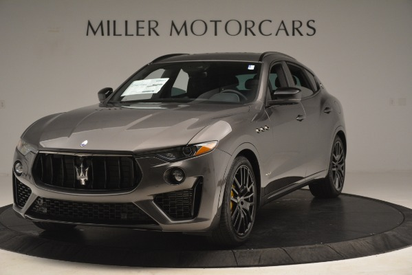 New 2019 Maserati Levante SQ4 GranSport Nerissimo for sale Sold at Pagani of Greenwich in Greenwich CT 06830 1