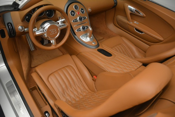 Used 2010 Bugatti Veyron 16.4 Grand Sport for sale Sold at Pagani of Greenwich in Greenwich CT 06830 23