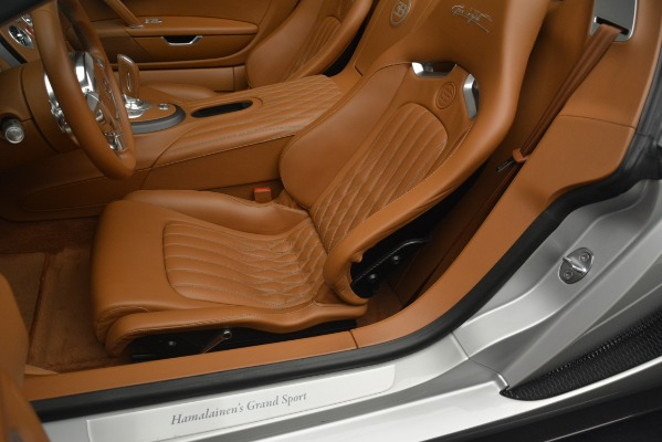 Used 2010 Bugatti Veyron 16.4 Grand Sport for sale Sold at Pagani of Greenwich in Greenwich CT 06830 25