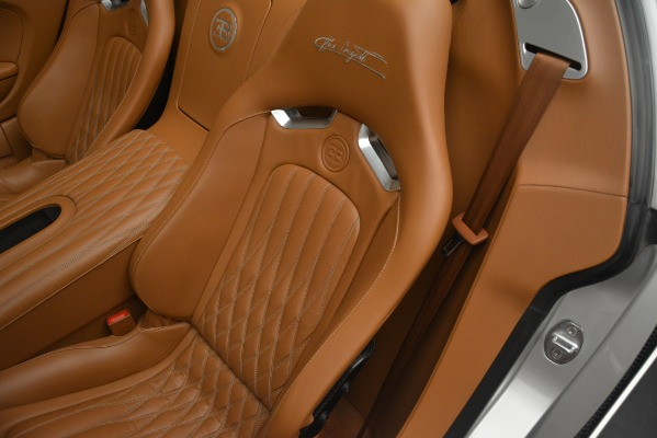 Used 2010 Bugatti Veyron 16.4 Grand Sport for sale Sold at Pagani of Greenwich in Greenwich CT 06830 26