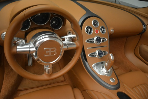 Used 2010 Bugatti Veyron 16.4 Grand Sport for sale Sold at Pagani of Greenwich in Greenwich CT 06830 28