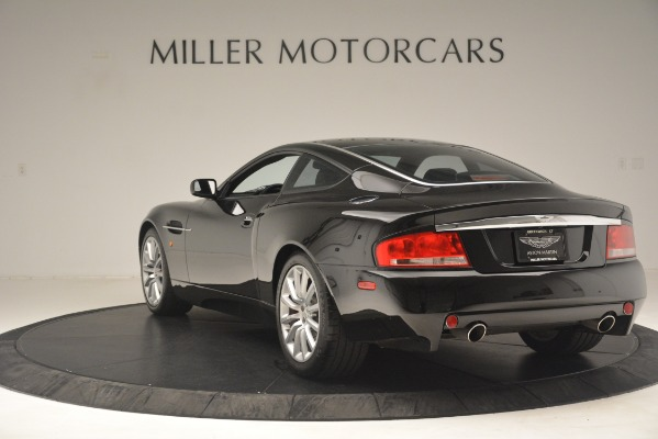Used 2004 Aston Martin V12 Vanquish for sale Sold at Pagani of Greenwich in Greenwich CT 06830 3