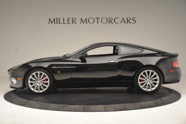 Used 2004 Aston Martin V12 Vanquish for sale Sold at Pagani of Greenwich in Greenwich CT 06830 4