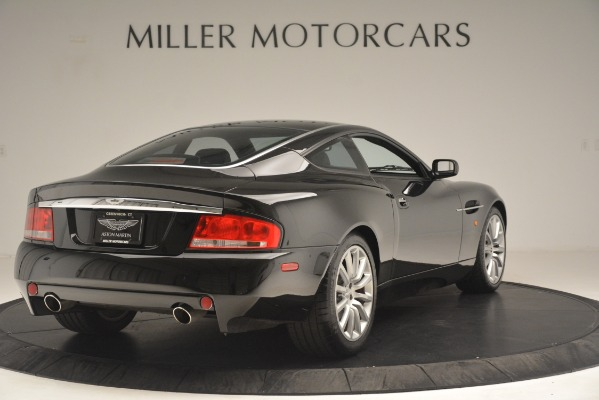 Used 2004 Aston Martin V12 Vanquish for sale Sold at Pagani of Greenwich in Greenwich CT 06830 6