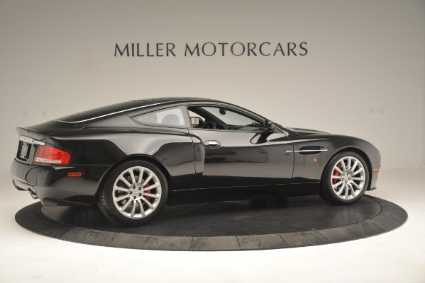 Used 2004 Aston Martin V12 Vanquish for sale Sold at Pagani of Greenwich in Greenwich CT 06830 8