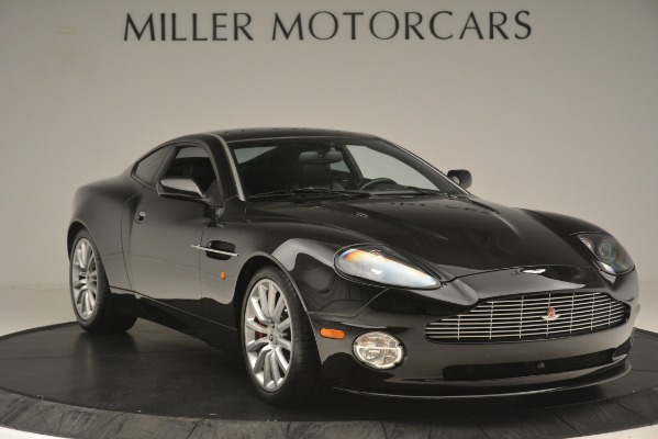 Used 2004 Aston Martin V12 Vanquish for sale Sold at Pagani of Greenwich in Greenwich CT 06830 9