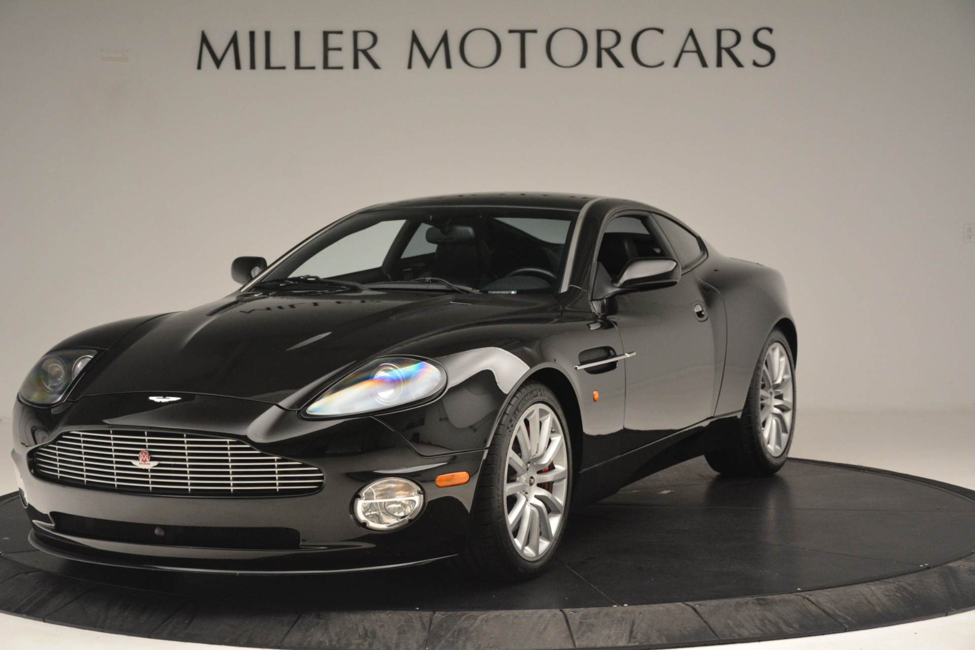 Used 2004 Aston Martin V12 Vanquish for sale Sold at Pagani of Greenwich in Greenwich CT 06830 1