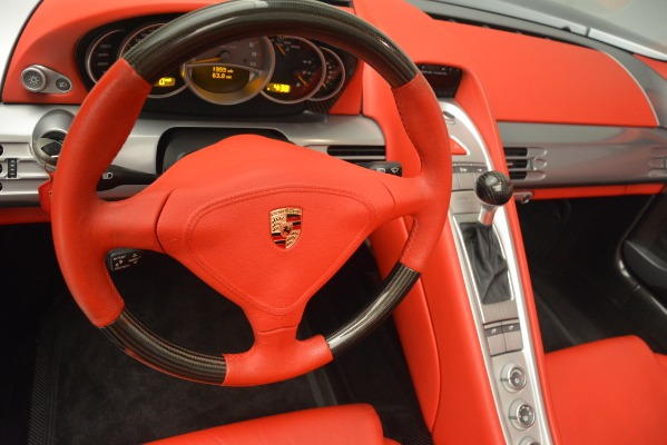 Used 2005 Porsche Carrera GT for sale Sold at Pagani of Greenwich in Greenwich CT 06830 27
