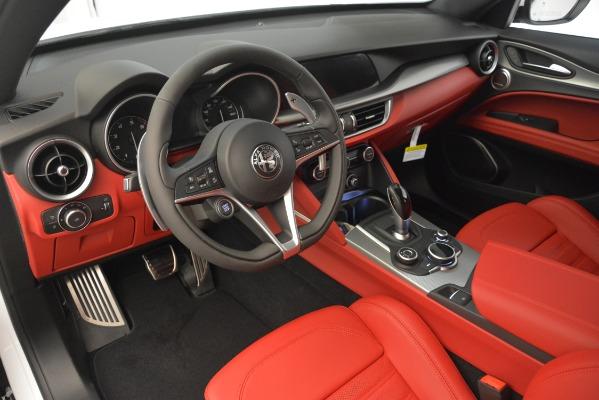 New 2019 Alfa Romeo Stelvio Ti Sport Q4 for sale Sold at Pagani of Greenwich in Greenwich CT 06830 11