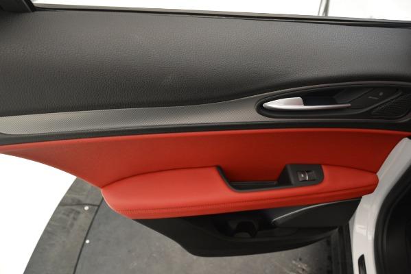 New 2019 Alfa Romeo Stelvio Ti Sport Q4 for sale Sold at Pagani of Greenwich in Greenwich CT 06830 19