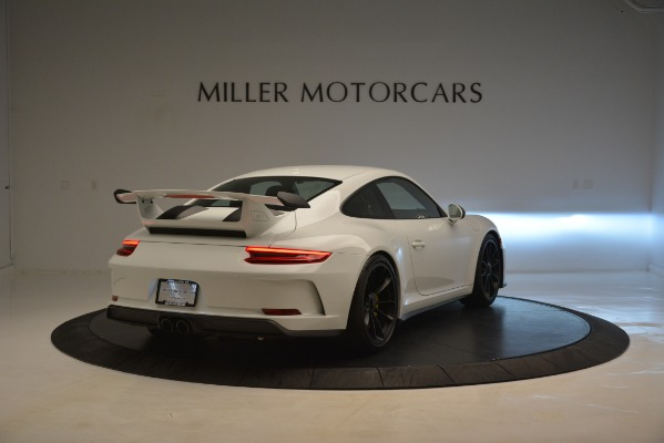 Used 2018 Porsche 911 GT3 for sale Sold at Pagani of Greenwich in Greenwich CT 06830 6