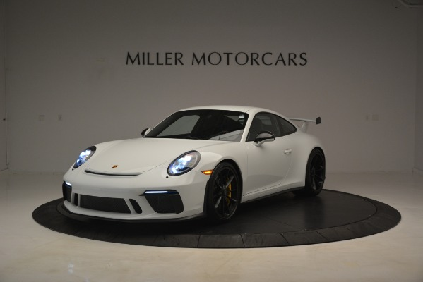 Used 2018 Porsche 911 GT3 for sale Sold at Pagani of Greenwich in Greenwich CT 06830 1