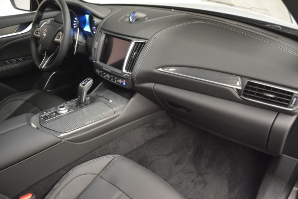 New 2019 Maserati Levante SQ4 GranSport Nerissimo for sale Sold at Pagani of Greenwich in Greenwich CT 06830 22