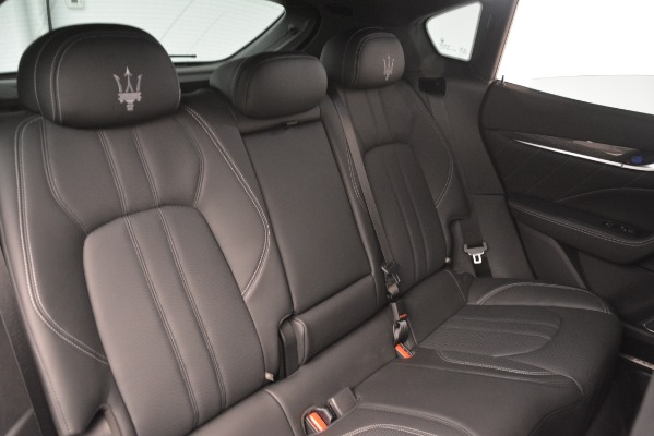 New 2019 Maserati Levante SQ4 GranSport Nerissimo for sale Sold at Pagani of Greenwich in Greenwich CT 06830 25