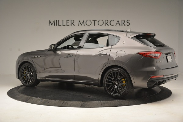 New 2019 Maserati Levante SQ4 GranSport Nerissimo for sale Sold at Pagani of Greenwich in Greenwich CT 06830 4