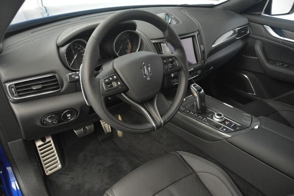 New 2019 Maserati Levante SQ4 GranSport Nerissimo for sale Sold at Pagani of Greenwich in Greenwich CT 06830 13