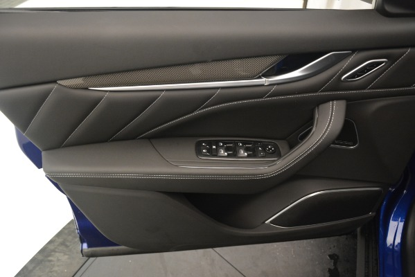 New 2019 Maserati Levante SQ4 GranSport Nerissimo for sale Sold at Pagani of Greenwich in Greenwich CT 06830 17