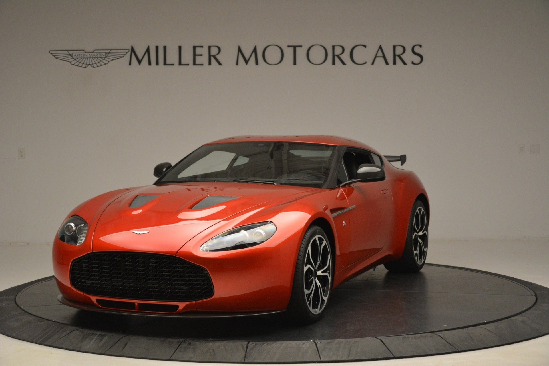 Used 2013 Aston Martin V12 Zagato Coupe for sale Sold at Pagani of Greenwich in Greenwich CT 06830 1