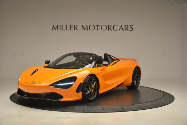 New 2020 McLaren 720S Spider for sale Sold at Pagani of Greenwich in Greenwich CT 06830 1