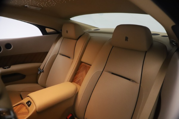 Used 2015 Rolls-Royce Wraith for sale Sold at Pagani of Greenwich in Greenwich CT 06830 22