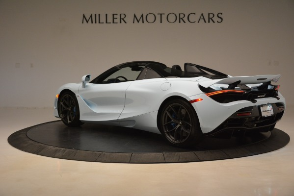 New 2020 McLaren 720S Spider for sale Sold at Pagani of Greenwich in Greenwich CT 06830 3