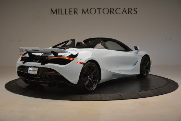 New 2020 McLaren 720S Spider for sale Sold at Pagani of Greenwich in Greenwich CT 06830 5