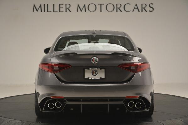 New 2019 Alfa Romeo Giulia Quadrifoglio for sale Sold at Pagani of Greenwich in Greenwich CT 06830 6