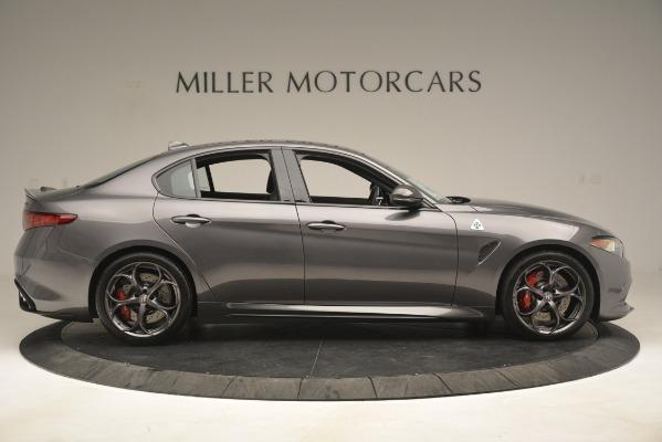 New 2019 Alfa Romeo Giulia Quadrifoglio for sale Sold at Pagani of Greenwich in Greenwich CT 06830 9