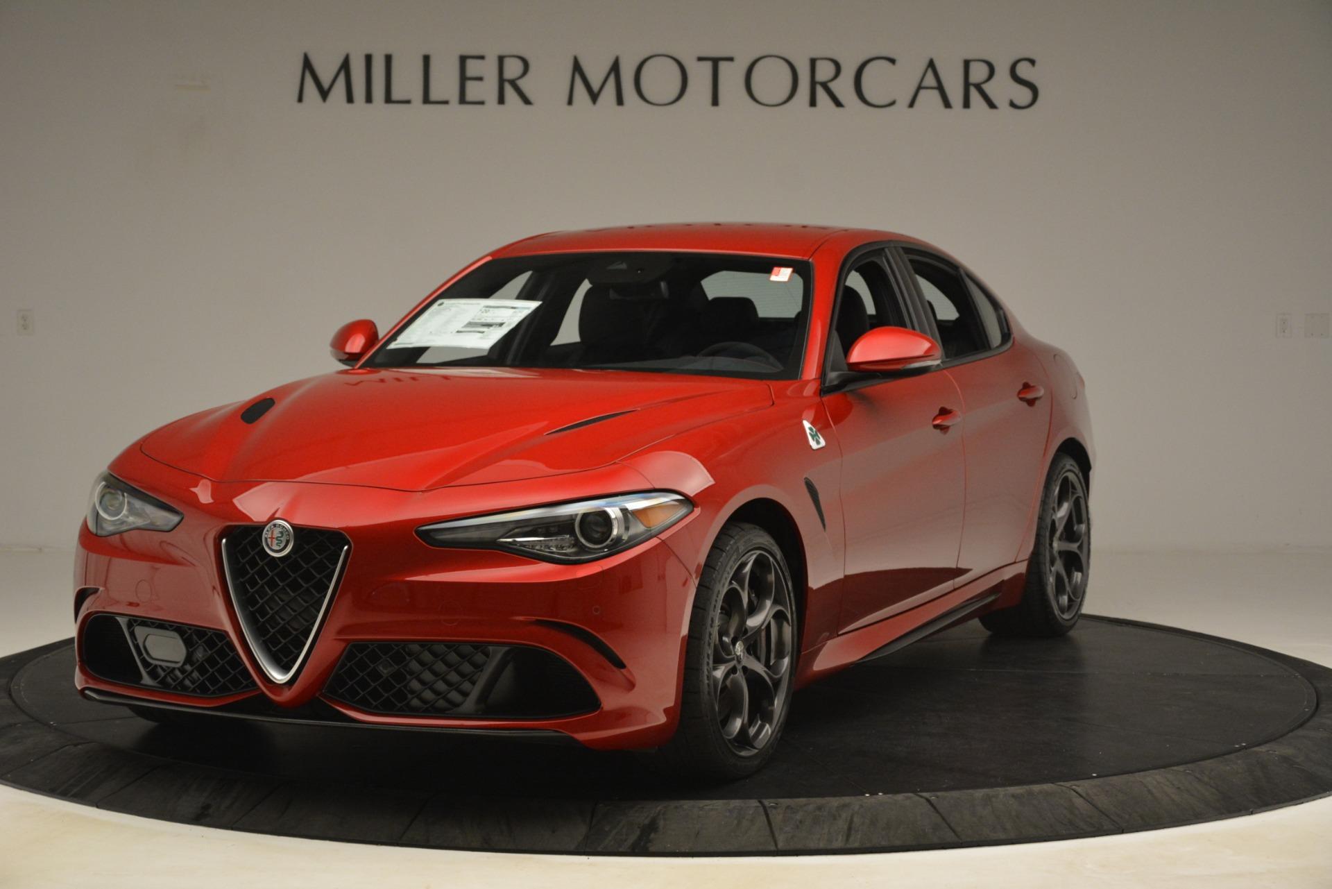 New 2019 Alfa Romeo Giulia Quadrifoglio for sale Sold at Pagani of Greenwich in Greenwich CT 06830 1