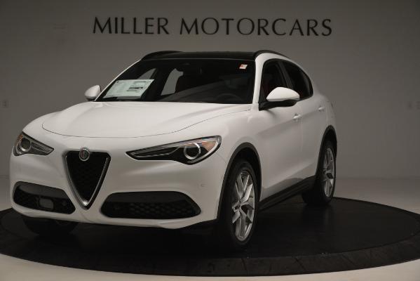 New 2019 Alfa Romeo Stelvio Ti Sport Q4 for sale Sold at Pagani of Greenwich in Greenwich CT 06830 1