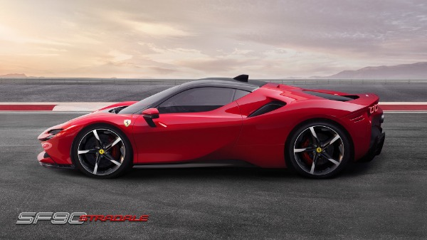 New 2021 Ferrari SF90 Stradale for sale Call for price at Pagani of Greenwich in Greenwich CT 06830 3
