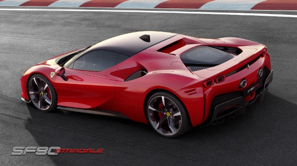 New 2020 Ferrari SF90 Stradale for sale Call for price at Pagani of Greenwich in Greenwich CT 06830 4