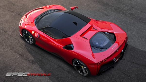 New 2021 Ferrari SF90 Stradale for sale Call for price at Pagani of Greenwich in Greenwich CT 06830 6