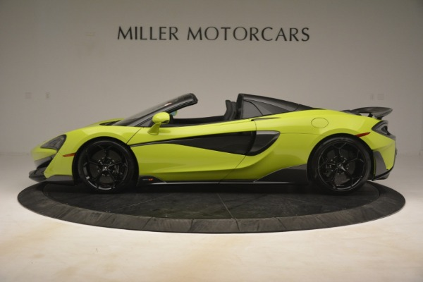 New 2020 McLaren 600LT SPIDER Convertible for sale $281,570 at Pagani of Greenwich in Greenwich CT 06830 10