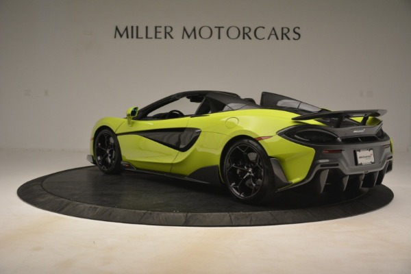 New 2020 McLaren 600LT SPIDER Convertible for sale $281,570 at Pagani of Greenwich in Greenwich CT 06830 11