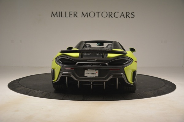 New 2020 McLaren 600LT SPIDER Convertible for sale $281,570 at Pagani of Greenwich in Greenwich CT 06830 12