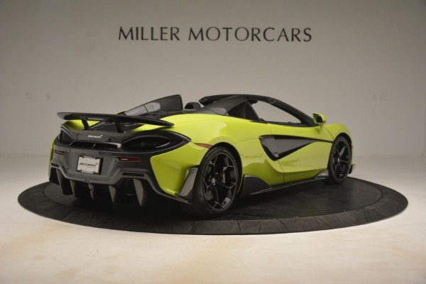 New 2020 McLaren 600LT SPIDER Convertible for sale $281,570 at Pagani of Greenwich in Greenwich CT 06830 13
