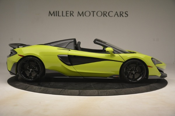 New 2020 McLaren 600LT SPIDER Convertible for sale $281,570 at Pagani of Greenwich in Greenwich CT 06830 14