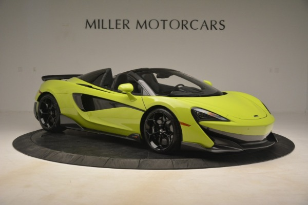New 2020 McLaren 600LT Spider Convertible for sale Call for price at Pagani of Greenwich in Greenwich CT 06830 15