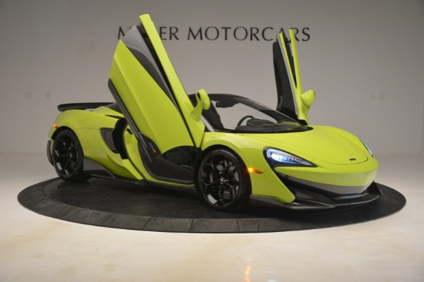New 2020 McLaren 600LT SPIDER Convertible for sale $281,570 at Pagani of Greenwich in Greenwich CT 06830 16