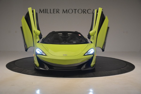 New 2020 McLaren 600LT SPIDER Convertible for sale $281,570 at Pagani of Greenwich in Greenwich CT 06830 17