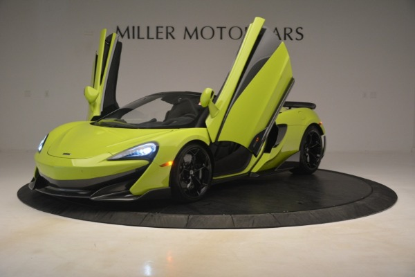 New 2020 McLaren 600LT Spider Convertible for sale Call for price at Pagani of Greenwich in Greenwich CT 06830 18