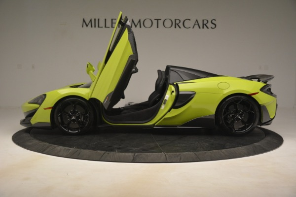 New 2020 McLaren 600LT SPIDER Convertible for sale $281,570 at Pagani of Greenwich in Greenwich CT 06830 19