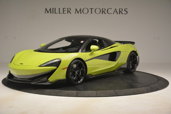 New 2020 McLaren 600LT SPIDER Convertible for sale $281,570 at Pagani of Greenwich in Greenwich CT 06830 2