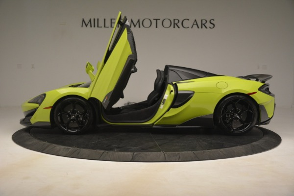 New 2020 McLaren 600LT SPIDER Convertible for sale $281,570 at Pagani of Greenwich in Greenwich CT 06830 20