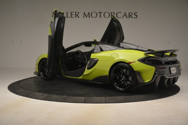 New 2020 McLaren 600LT SPIDER Convertible for sale $281,570 at Pagani of Greenwich in Greenwich CT 06830 21