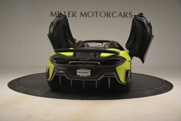New 2020 McLaren 600LT Spider Convertible for sale Call for price at Pagani of Greenwich in Greenwich CT 06830 22