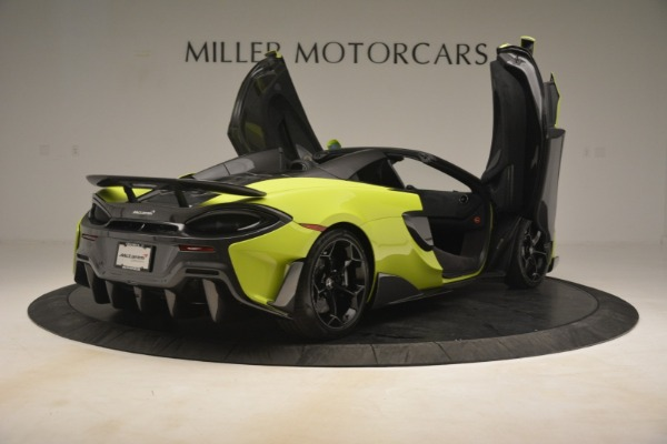 New 2020 McLaren 600LT SPIDER Convertible for sale $281,570 at Pagani of Greenwich in Greenwich CT 06830 23